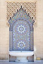Adhesivo de pared decoración : Fontaine oriental - ref 1704 (16 dimensiones)