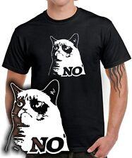 T-SHIRT | THE GRUMPY MEME | NO | good | KATZE CAT | Kult Design Fun