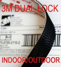 3M DUAL LOCK Reclosable tape Genunie Clear Black SELF ADHESIVE HOOK LOOP
