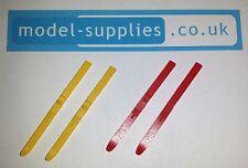 Corgi 475 Citroen Winter Sports / Olympic Safari Reproduction Pair Plastic Skis