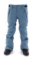 O'Neill Glamour Womens Snowboard Snow Ski Pants Bluish Denim Slim Fit