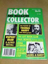 BOOK COLLECTOR - LAUREL & HARDY Jan 1992 #94
