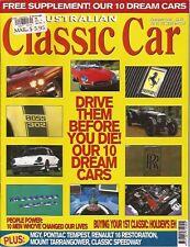 Aus Classic Car Feb 98 EH Renault 16 Minor 1000 Speedway Daytona Boss 302 E type