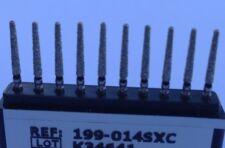 Diamond Burs 50 x199-856-014sXC extra course 1.4 mm Dia 10mm Cutting Length