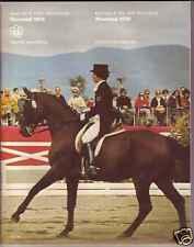 ORIGINAL PROGRAM MONTREAL 1976 OLYMPIC:EQUESTRIAN SPORT