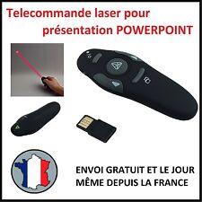 TELECOMMANDE COMMANDE DISTANCE PRESENTATION POWERPOINT LASER USB PROJECTEUR