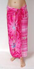New Premium calidad Rosa Estampado De Flores sarong Pareo Cobertor encubrir Bnip / sa367p