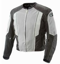 Joe Rocket Mens Phoenix 5.0 Black/Grey Mesh Motorcycle Jacket