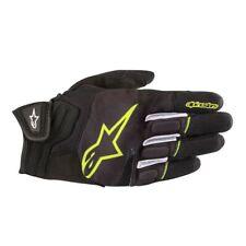 Alpinestars Atom Street Gloves / Black/Yellow - All Sizes