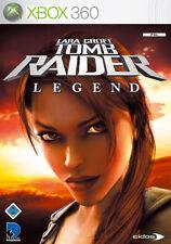 Lara Croft Tomb Raider: Legend pour XBOX 360 * bien * (Avec neuf dans sa boîte)