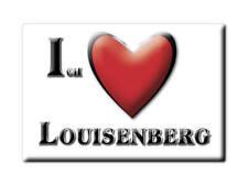 DEUTSCHLAND SOUVENIR - SCHLESWIG HOLSTEIN MAGNET LOUISENBERG (RENDSBURG ECKERNFÖ