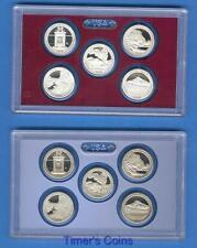 2010 P D S S Quarters Satin/Proof/Silver - 20 Coins