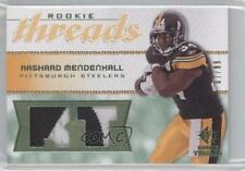 2008 SP Rookie Threads RT Version Green Patch #RT-RM Rashard Mendenhall Card