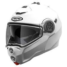 Casco de moto modular CABERG DROID Blanco + Pinlock antivaho