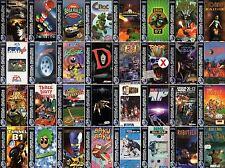 SEGA SATURN-Spiel-Game-Top Spiele/Games-Arcade Raritäten-FSK 0-16-Sammlung-rare