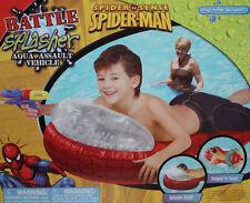 Marvel Spider Sense Spider-Man Red Battle Splasher Aqua Assault Vehicle Nib