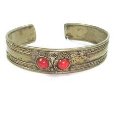 Genuine Kabul bracelet with Coral