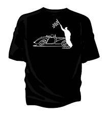 Bosquejo original' ' Bandera a Cuadros Retro Clásico Camiseta TRIUMPH 1800 Roadster