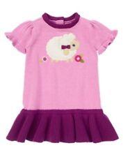 NWT Gymboree Loveable Lamb Sweater Dress Girls 3 6 9 12mo Baby Girls