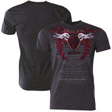 "Forza MMA ""Immortal Crest"" T-Shirt - Charcoal"