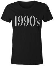 1990s Womens T-Shirt Retro Tumblr Fashion Popular Hipster Summer Top Tee