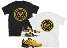 "Nike Air Max Plus 97 95 Frequency Tour Yellow Black White ""Target-T"" SHIRTS"