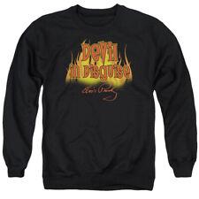 Elvis Devil In Disguise Mens Crewneck Sweatshirt Black