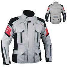 4 Capas 4 Seasons chaqueta desmontable térmica impermeable Moto BMW Gris