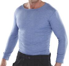 Warrior / B Dri Thermal T-Shirts / Vests, Blue / Black, New NIB, Priced to Clear
