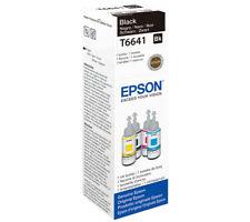 T6641 NERO EPSON ECOTANK 664 C13T664140 di inchiostro della stampante