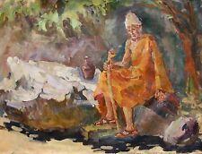 Russian Ukrainian Oil Painting Impressionism Strannik