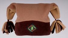 Brown Pom-Pom Designer Fleece Ski and Outdoor Hat by Original Lizard
