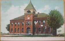 1910 NY Postcard: Angola High School - Angola, New York