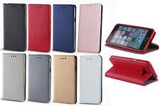 Smart Magnet Handy Tasche Hülle Book Cover mit TPU Halter für Huawei Smartphone