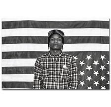 60651 A$ap ROCKY Rapper Hip-Hop Music Rap Star Wall Print Poster Affiche