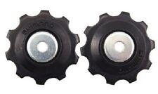 2 SHIMANO Bike Jockey Wheel Guide Tension Pulley Rear Gear Shift 10T wheels sp