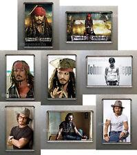 New, Quality Fridge Magnets - JOHNNY DEPP Capt Jack Sparrow, Nice Choice, u pick