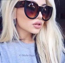Oversized Thick Arm Cat Eye Round BOHO Wolves WaYFe Women LUX Sunglasses 6035 L