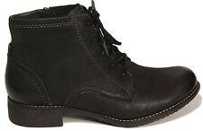 TAMARIS Schuhe Schnürstiefel Stiefelette echt Leder schwarz Reißverschluss NEU
