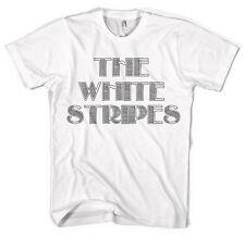 Le strisce bianche Jack White Band Unisex Maglietta tutti i colori e dimensioni