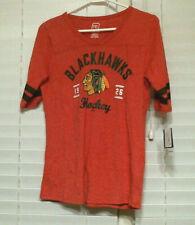 Womens Chicago Blackhawks 1/2 Sleeve T-Shirt, KANE #88, Red, Sizes, NEW