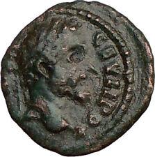 SEPTIMIUS SEVERUS 193AD Nicopolis Ancient Roman Coin Hercules Club Nice i22609