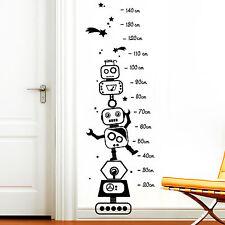 12271 Pegatina Pared Bar robot robo estrellas Dormitorio Infantil Adhesivo