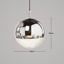 Glass Ceiling Light Hanging Fixtures Chromium-plating Pendant Lamp Lighting Home