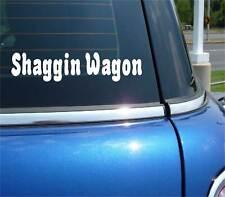 SHAGGIN WAGON SHAGGING SEX FUNNY DECAL STICKER ART CAR WALL DECOR
