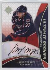 2008 Ultimate Collection 98 Jakub Voracek Columbus Blue Jackets Auto Hockey Card