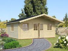 Gartenhaus Helena 3 Blockhaus Holzhaus Schuppen ca 530x530 cm Holz 70 mm