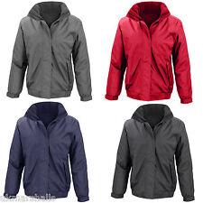 Womens Result Core Waterproof Windproof Rain Coat  Hooded Channel Jacket -RS221F