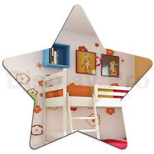 Niños ESTRELLA ACRÍLICO Reflectante Decoración Dormitorio para niños