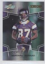 2008 Score Select Scorecard #169 Bernard Berrian Minnesota Vikings Football Card